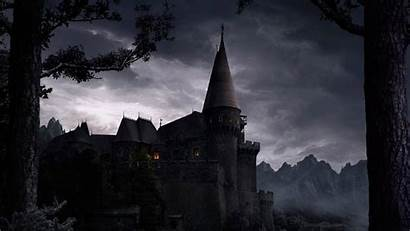 Spooky Desktop Wallpapers Backgrounds Castle Lovecraft Alchemist