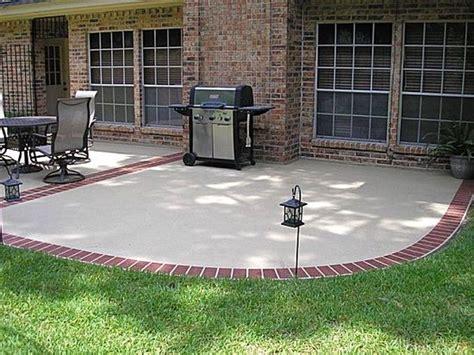 brick and concrete patio designs concrete and brick patio idea 5 yard pinterest