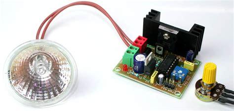 High Current Pwm Halogen Lamp Dimmer Circuit Ideas