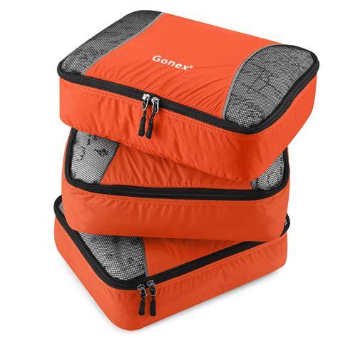 storage cube organizer 5pcs waterproof travel luggage organizer zip bag storage