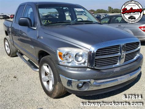 Used Dodge Ram by Used Parts 2008 Dodge Ram 1500 4 7l 4x2 Subway Truck Parts
