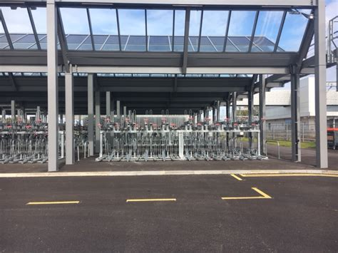 Additional Cycle Parking At Cambridge North Station Lock