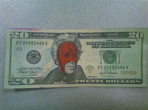 funny defaced dollar bills jorymoncom
