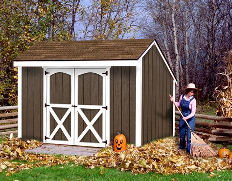 8x12 wood shed aspen shed kit diy shed kit by best barns