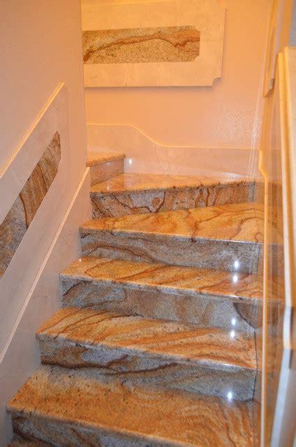 stairs marblegranite mediterranean staircase tampa  depotgranite