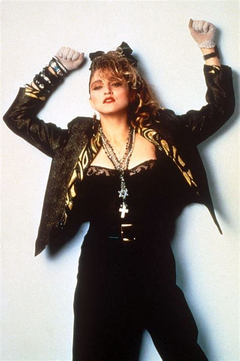 The Influence Of Punk  Madonna In The 1980s Blog