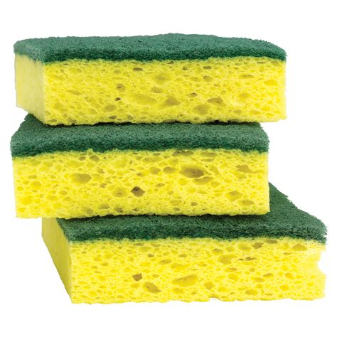cellulose sponge shop scotch brite 3 pack cellulose sponges with scouring pads at lowes com
