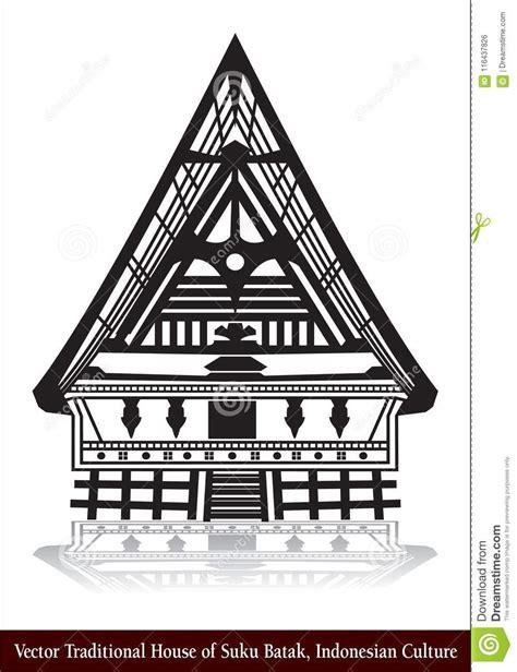 gambar rumah adat batak toba arcadia desain