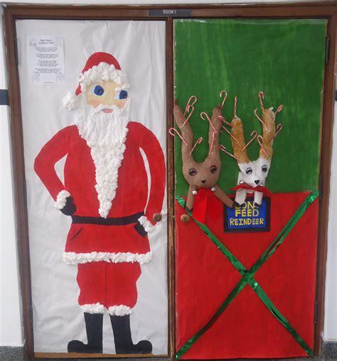 funny christmas door decoration ideas myideasbedroom com