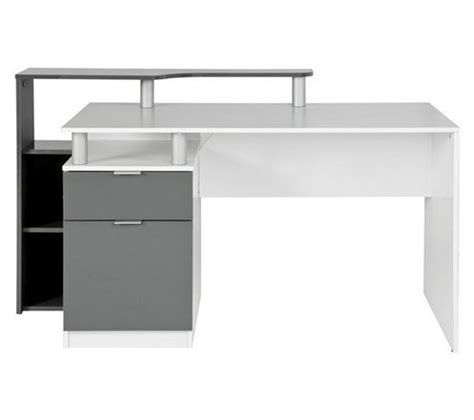 bureau chez but bureau d 39 angle django blanc bureaux but bureau droit