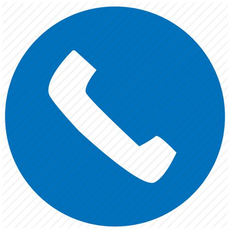 telephone icon png blue connection by armin hosseini