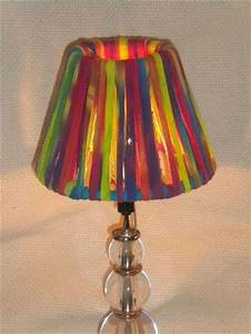 12 diy lampshade design ideas diy to make for Floor lamp with different color shades