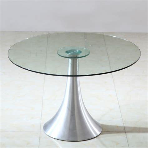 table a manger ronde en verre table salle manger ronde verre pas cher comparer les prix avec cherchons