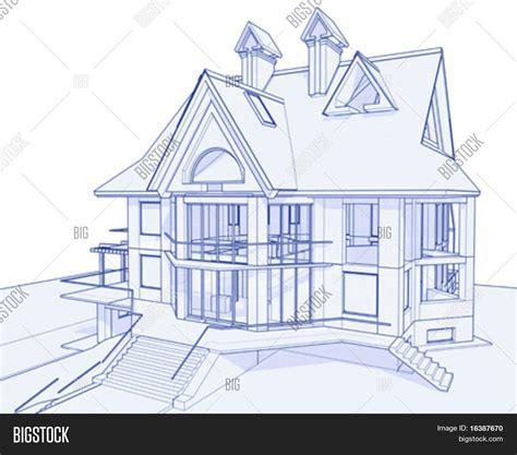 ardoise pour cuisine dessin de maison en 3d
