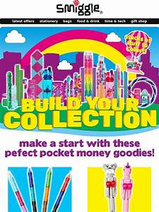 Smiggle: build your dream smiggle collection! Milled