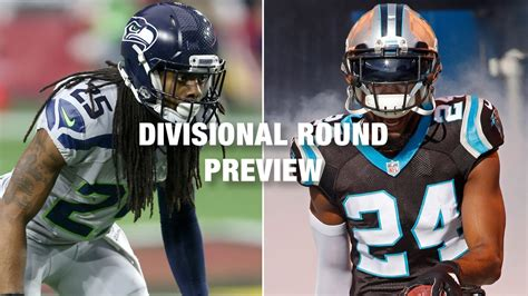 seahawks  panthers preview nfc divisional playoff