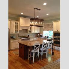 Long Hanging Lantern  Traditional  Kitchen  Charlotte