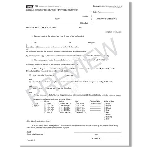 What Do I Need To Put On My Resume by Blumberg New York Domestic Relations Forms