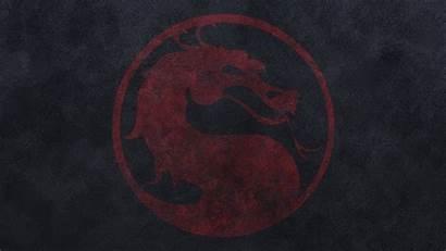 Kombat Mortal Dragon Wallpapers Background Games Logos