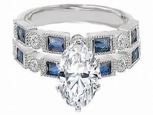 wedding rings sapphire wedding sets vera wang necklace With vera wang wedding ring sets