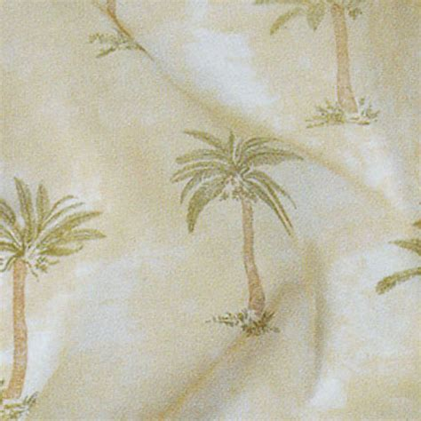 palm tree sheer cloth connection
