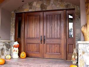 Custom Wood Front Entry Doors Custom Solid Mahogany Wood