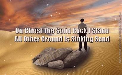 Rock Solid Stand Christ Mb Christian Px