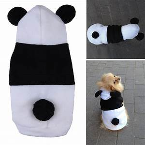 cheap panda dog costume