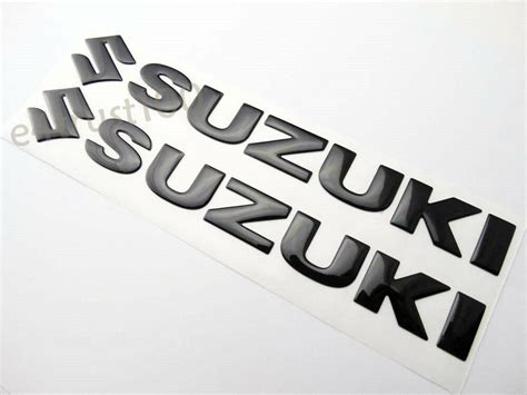 Suzuki Motorcycle Decals by 3d Metal Car Racing Sport Logo Decal Auto Stickers