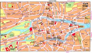 Cork City Ireland Map
