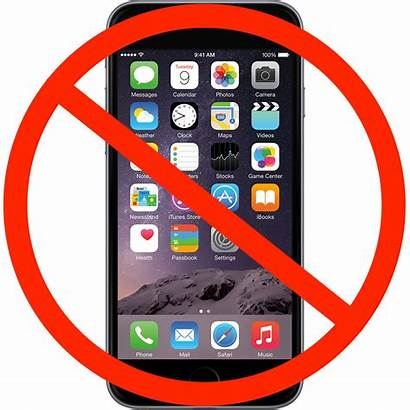 Cell Iphones Allowed Testing Phones Iphone Clipart