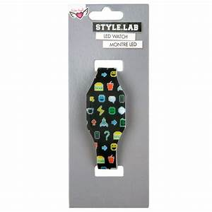 Pixel Emoji LED Watch - LED Watches - Accessories - Style Lab