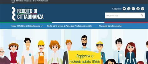Reddito Di Cittadinanza, Ecco Il Sito Ufficiale, Roma