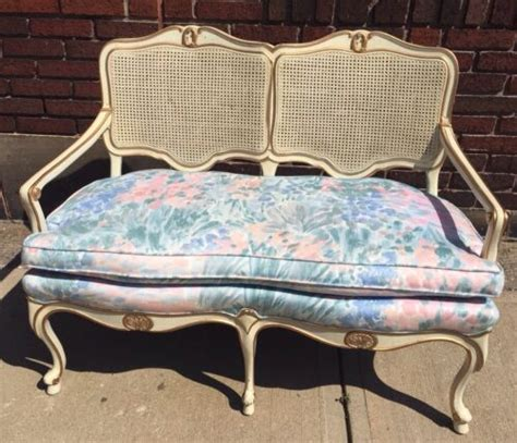 shabby chic settee furniture sofa antiques us