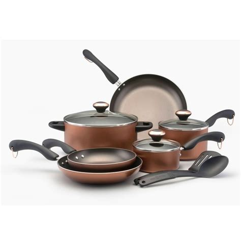 shop paula deen signature  piece cookware set overstock