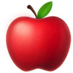 Emoji Red Apple