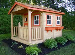 diy wooden playhouse plans