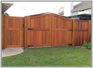 Wood Fence Gate Design Ideas