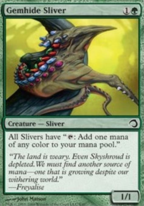 5 color pauper hive slivers pauper mtg deck