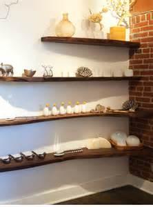 Composizione mensole libreria da parete legno massello