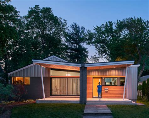 Houzz Tour From Midcentury Rambler To Modern Marvel