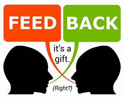 Feedback Gift Personal Face Giving Receiving Debriefing