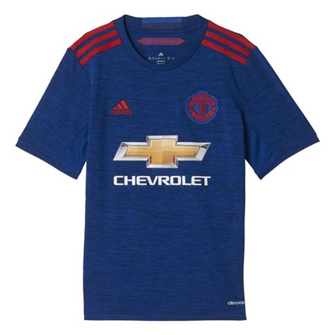 maillot ext 233 rieur manchester united junior 2016 2017 sur foot fr
