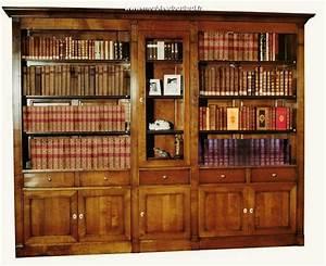 Bibliothèque En Bois Massif : biblioth que modulable en bois massif ~ Teatrodelosmanantiales.com Idées de Décoration