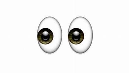 Emoji Emoticono Uno Grandes Ojos Futbolistas Corresponde