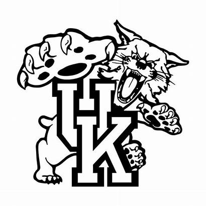 Kentucky Svg Vector Wildcats University Clipart Coloring