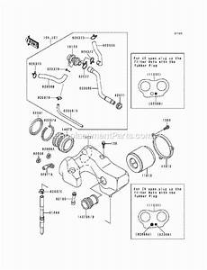 Kawasaki En500-a1 Parts List And Diagram