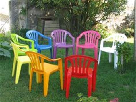 comment renover des chaises de jardin en plastique de cing et jardin