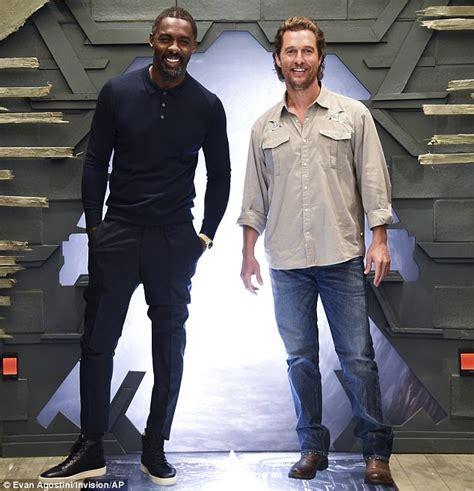Idris Elba and Matthew McConaughey at Dark Tower photocall ...