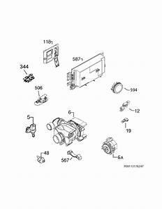 Electrolux Model Ew24id80qs0a Dishwasher Genuine Parts
